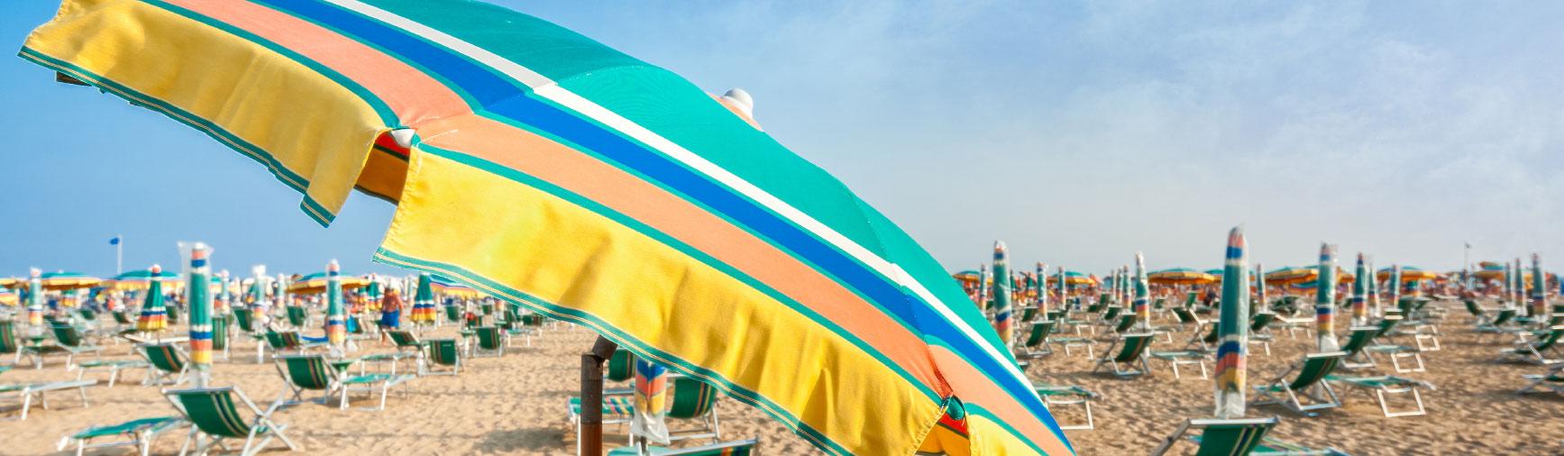 Spiaggia 4.0: prenotazione ombrellone da app